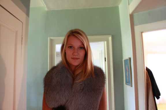 Sydney in Fur